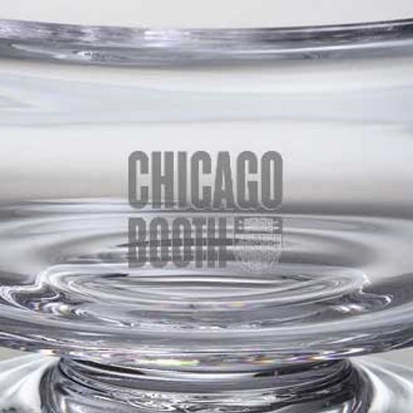 Chicago Booth Simon Pearce Glass Revere Bowl Med - Image 2