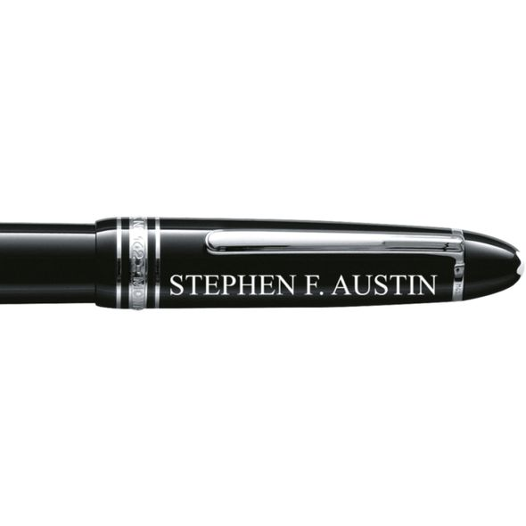 SFASU Montblanc Meisterstück LeGrand Rollerball Pen in Platinum - Image 2