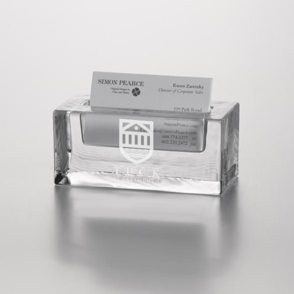 TUCK Glass Business Cardholder by Simon Pearce - Image 2
