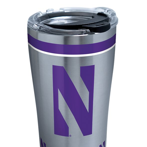 Northwestern 20 oz. Stainless Steel Tervis Tumblers with Hammer Lids - Set of 2 - Image 2