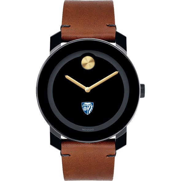Johns Hopkins University Men's Movado BOLD with Brown Leather Strap - Image 2