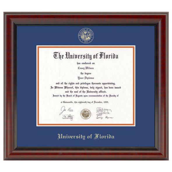 University of Florida Diploma Frame, the Fidelitas - Image 1