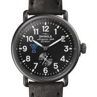 Yale Shinola Watch, The Runwell 41mm Black Dial