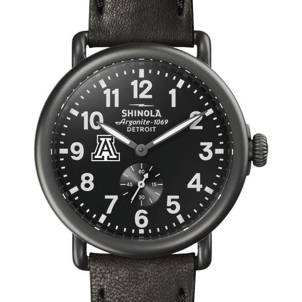 Arizona Shinola Watch, The Runwell 41mm Black Dial - Image 1