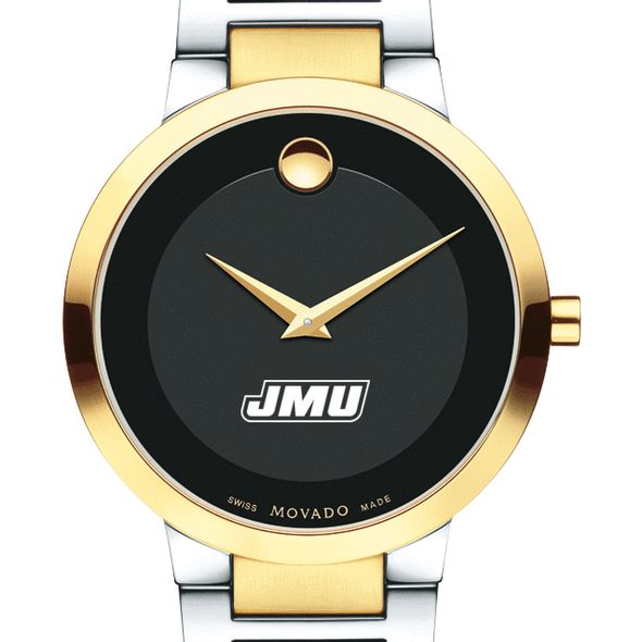 James Madison University Men's Movado Two-Tone Modern Classic Museum with Bracelet