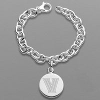 Villanova Sterling Silver Charm Bracelet