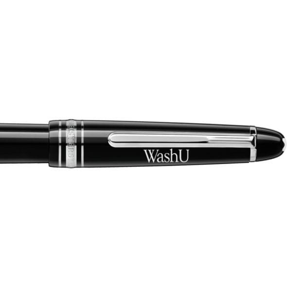 WUSTL Montblanc Meisterstück Classique Fountain Pen in Platinum - Image 2