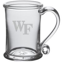 Wake Forest Glass Tankard by Simon Pearce