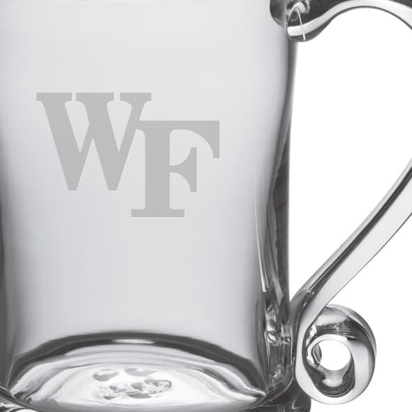 Wake Forest Glass Tankard by Simon Pearce - Image 2