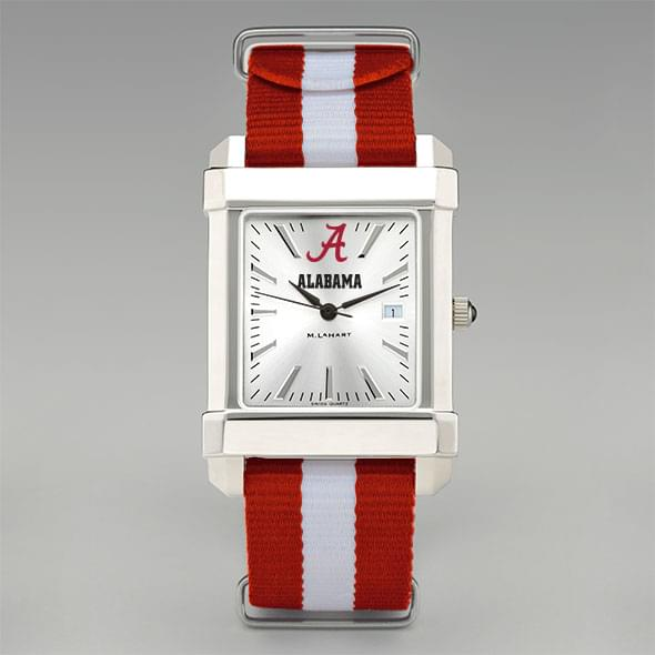 University of Alabama Collegiate Watch with NATO Strap for Men - Image 2