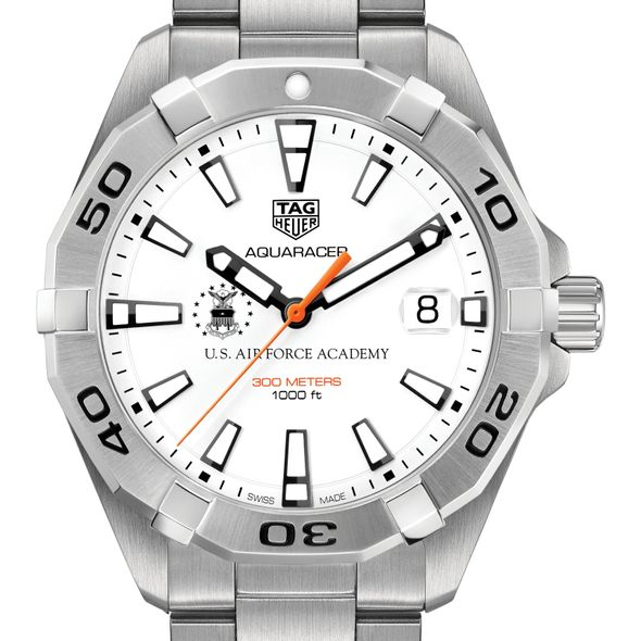 US Air Force Academy Men's TAG Heuer Steel Aquaracer