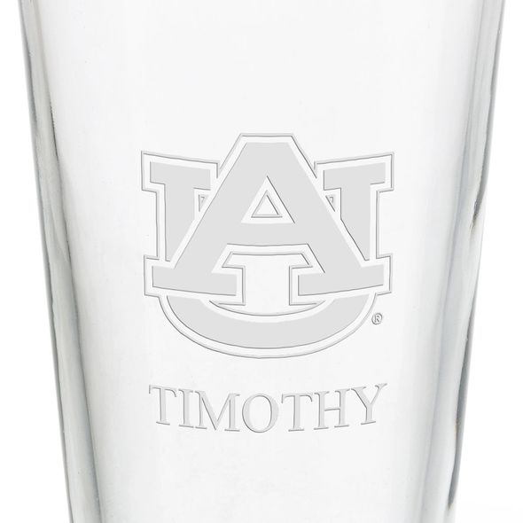 Auburn University 16 oz Pint Glass - Image 3