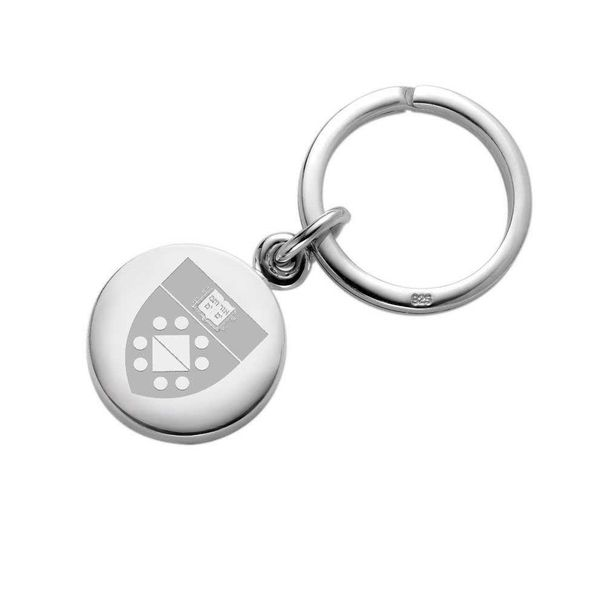Yale SOM Sterling Silver Insignia Key Ring - Image 1
