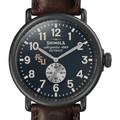 FSU Shinola Watch, The Runwell 47mm Midnight Blue Dial - Image 1