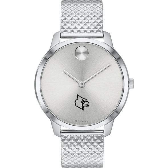 University of Louisville Women's Movado Stainless Bold 35 - Image 2