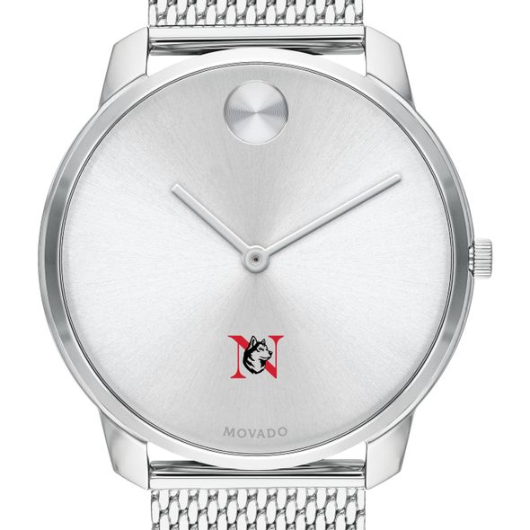 Northeastern University Men's Movado Stainless Bold 42