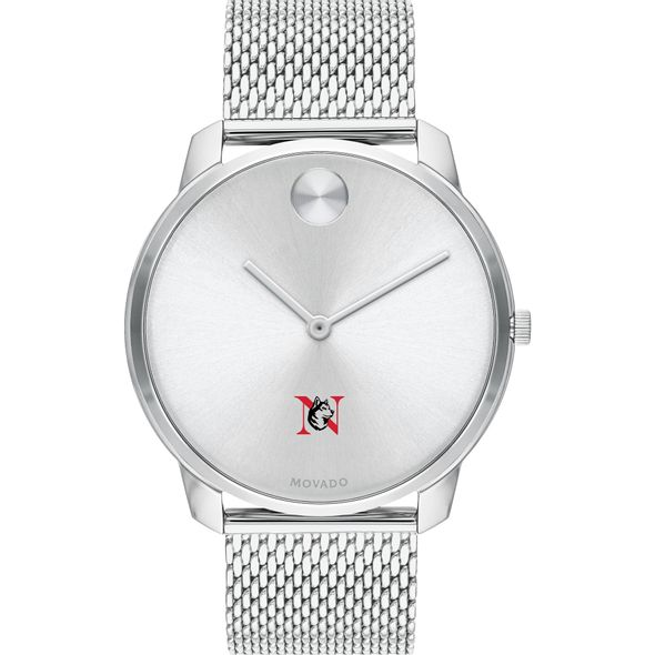 Northeastern University Men's Movado Stainless Bold 42 - Image 2
