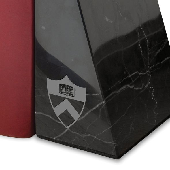 Princeton University Marble Bookends by M.LaHart - Image 2