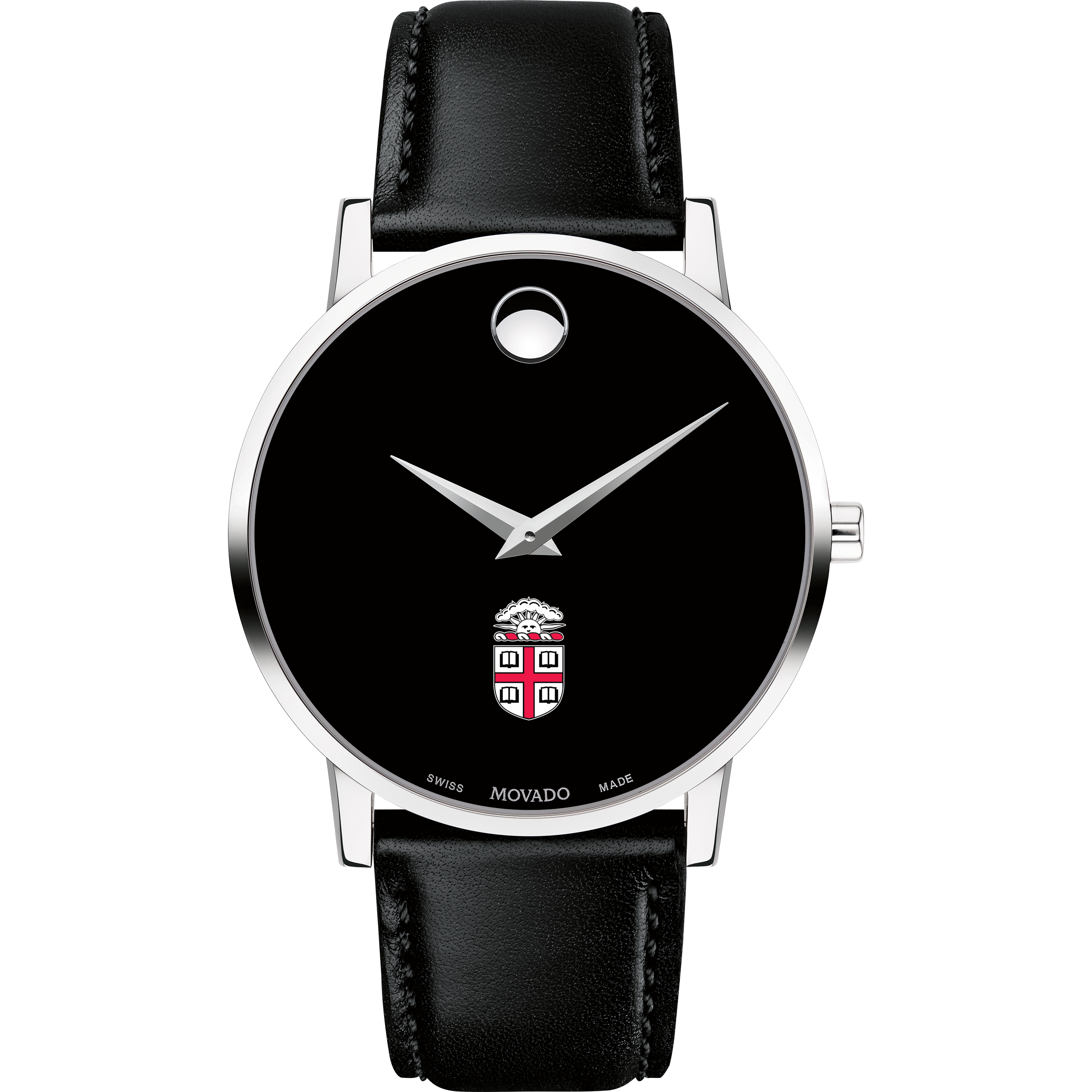 Brown Men's Movado Museum with Leather Strap - Image 2