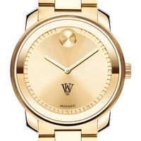 WashU Men's Movado Gold Bold
