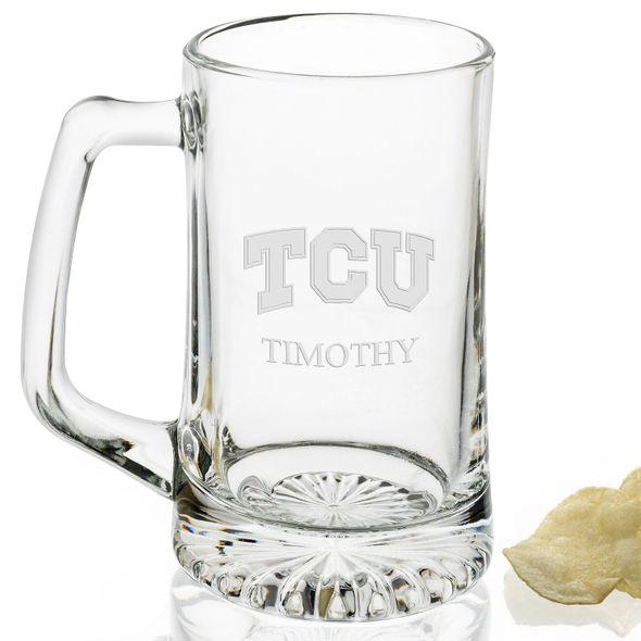 TCU 25 oz Beer Mug - Image 2