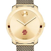 Boston College Women's Movado Gold Bold 36