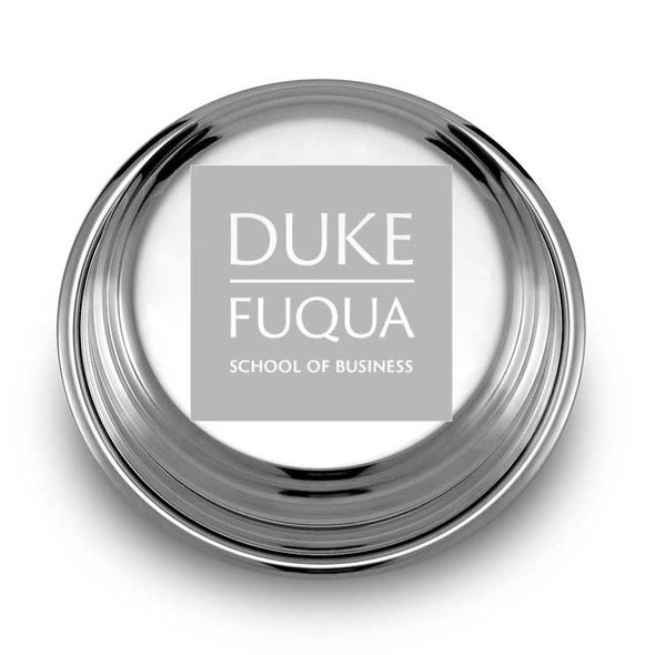 Duke Fuqua Pewter Paperweight - Image 1