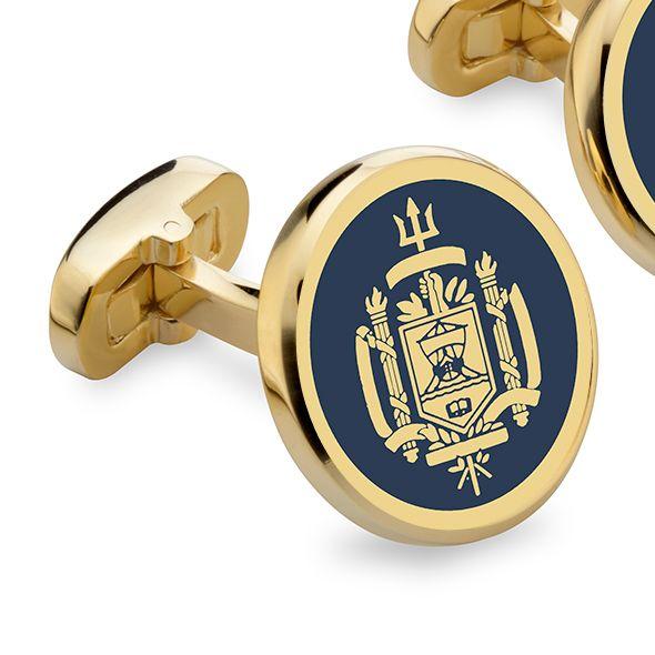 Naval Academy Enamel Cufflinks - Image 2