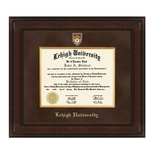 Lehigh Excelsior Diploma Frame