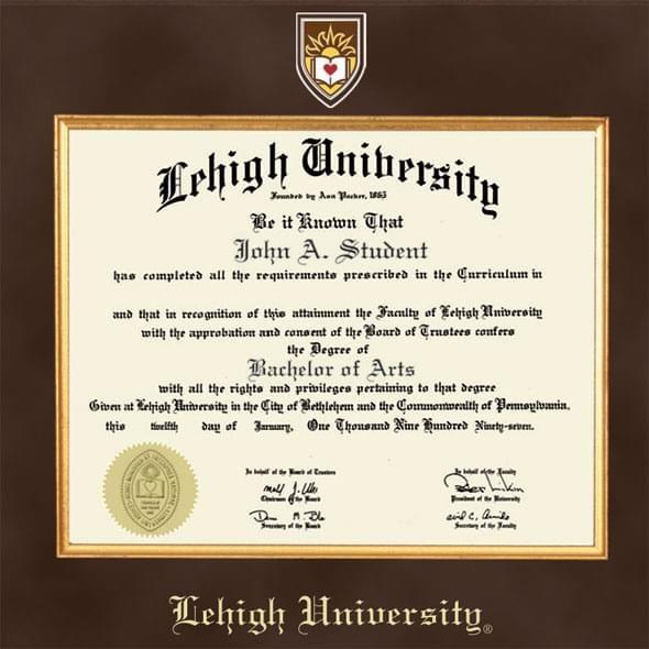 Lehigh Excelsior Diploma Frame - Image 2