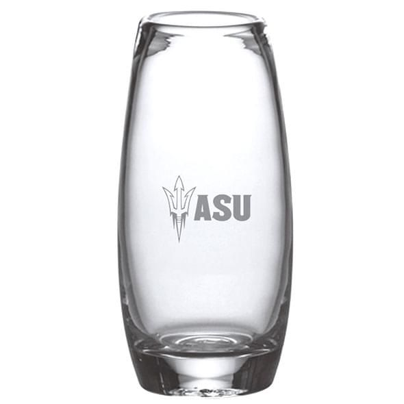 Arizona State Glass Addison Vase by Simon Pearce