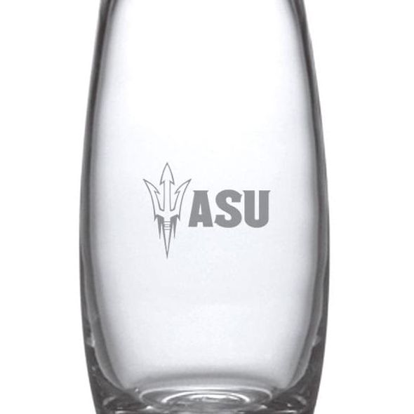 Arizona State Glass Addison Vase by Simon Pearce - Image 2