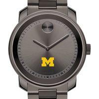 University of Michigan Men's Movado BOLD Gunmetal Grey