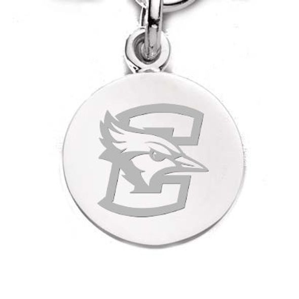Creighton Sterling Silver Charm