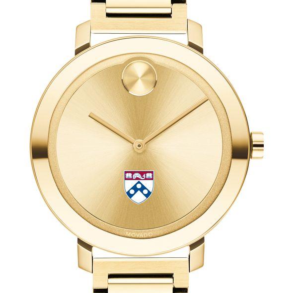 University of Pennsylvania Women's Movado Gold Bold 34
