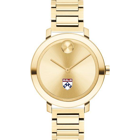 University of Pennsylvania Women's Movado Gold Bold 34 - Image 2