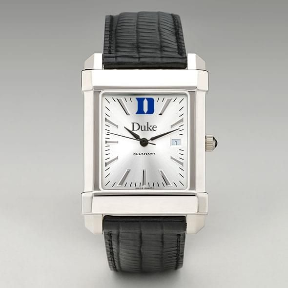Duke Men's Collegiate Watch with Leather Strap - Image 2