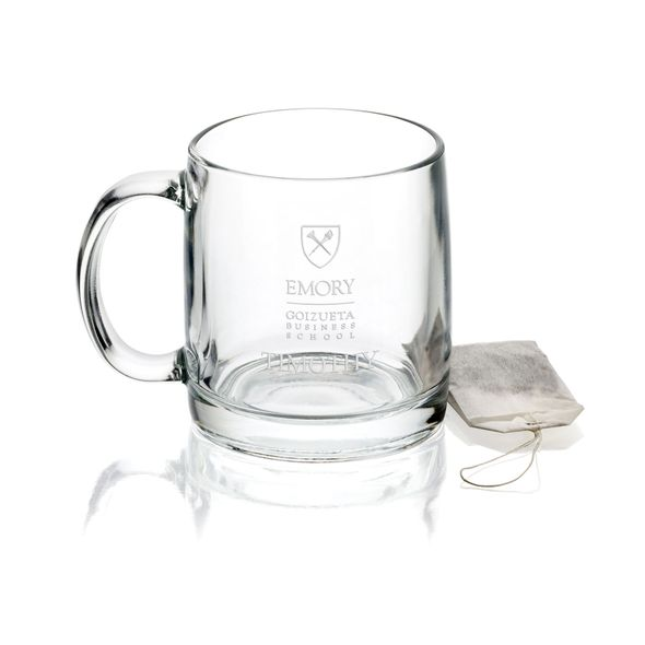 Emory Goizueta Business School 13 oz Glass Coffee Mug