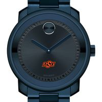 Oklahoma State University Men's Movado BOLD Blue Ion with Bracelet