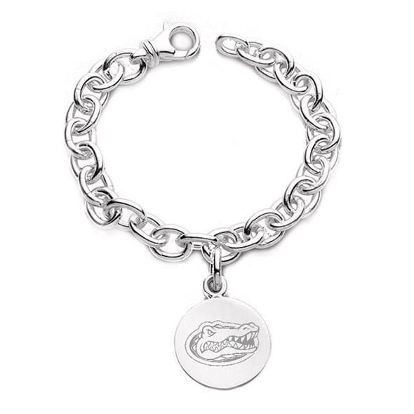 Florida Sterling Silver Charm Bracelet - Image 1