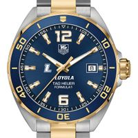 Loyola Men's TAG Heuer Two-Tone Formula 1 with Blue Dial & Bezel