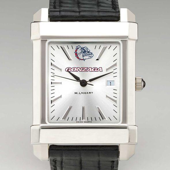 Gonzaga Men's Collegiate Watch with Leather Strap
