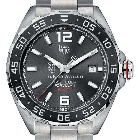 St. John's Men's TAG Heuer Formula 1 with Anthracite Dial & Bezel - Image 1