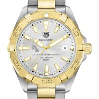 US Coast Guard Academy Men's TAG Heuer Two-Tone Aquaracer