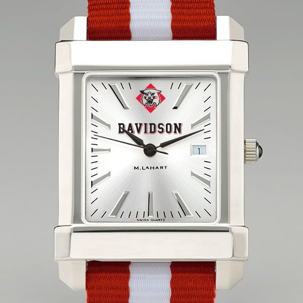 Davidson College Collegiate Watch with NATO Strap for Men - Image 1