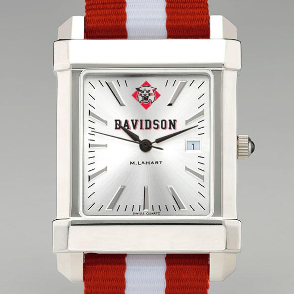 Davidson College Collegiate Watch with NATO Strap for Men