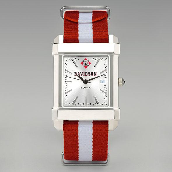 Davidson College Collegiate Watch with NATO Strap for Men - Image 2