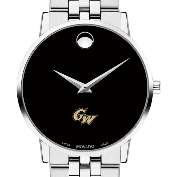 George Washington University Men's Movado Museum with Bracelet