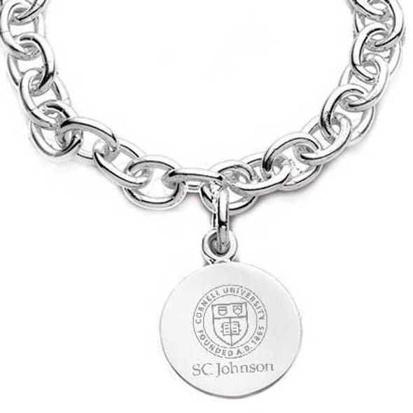 SC Johnson College Sterling Silver Charm Bracelet - Image 2