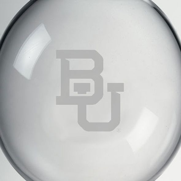 Baylor Glass Ornament by Simon Pearce - Image 2